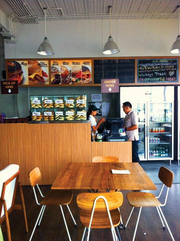 Kasir Bagel-Bagel menggunakan Software Restoran Quinos