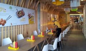 Interior Restoran Cooking Panda