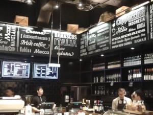Kasir di Liberica Coffee